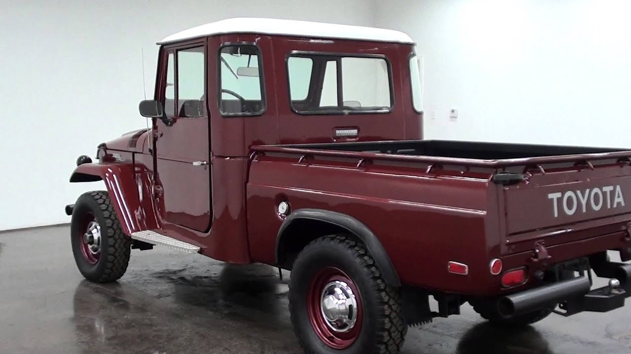1965 toyota fj pickup 4x4 youtube. Black Bedroom Furniture Sets. Home Design Ideas