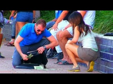 NEW Gold Digger Pranks - Girls Love Money! - SOCIAL EXPERIMENTS 2016