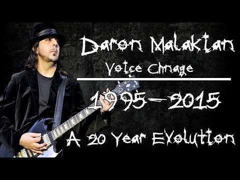 Daron Malakian Voice Change 1995-2015 A 20 Year Evolution