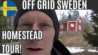 Homestead Tour — Off Grid Sweden
