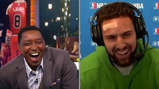 Klay Thompson Hits 14 3-Pointers and Sets NBA Record | Reaction