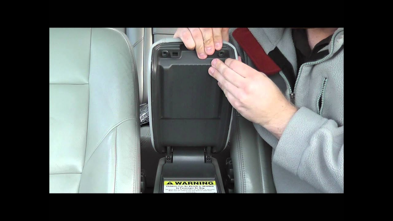 1999 Volvo S80 T6 Armrest replacement. - YouTube