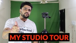 My Studio Setup Tour | Green Screen + Secondary Mic Setup | Hindi