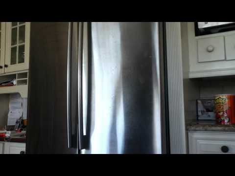 How To Turn A White Fridge Into Stainless Steel  How To Make & Do