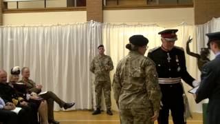 South Yorkshire Reserves and Cadets Honoured by Her Majesty's Lord-Lieutenant (Full Version)
