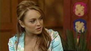 Lindsay Lohan Regis And Kelly Interview February
