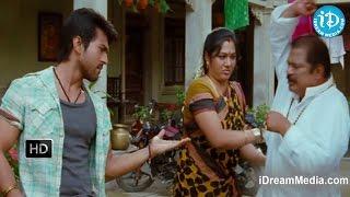 Rachaa - Racha Movie - Jhansi, Ram Charan, MS Narayana, Dharmavarapu, Hema Funny Scene