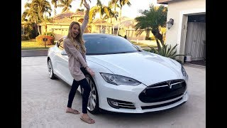 CAR TOUR! Tesla model S