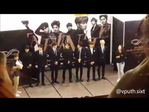 Infinite Press Conference in Singapore - Infinite Effect World Tour