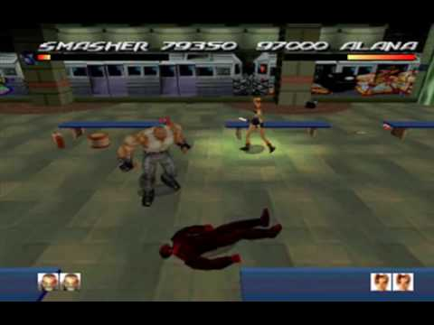 Fighting Force - Level 1.1: Car Park image at car games rpm