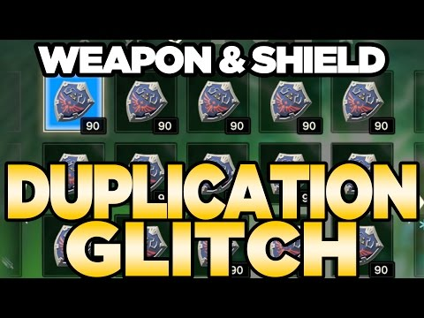 Weapon & Shield Duplication Glitch for Breath of the Wild   Austin John Plays