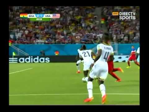 Gol de Clint Dempsey | USA 1 Ghana 0