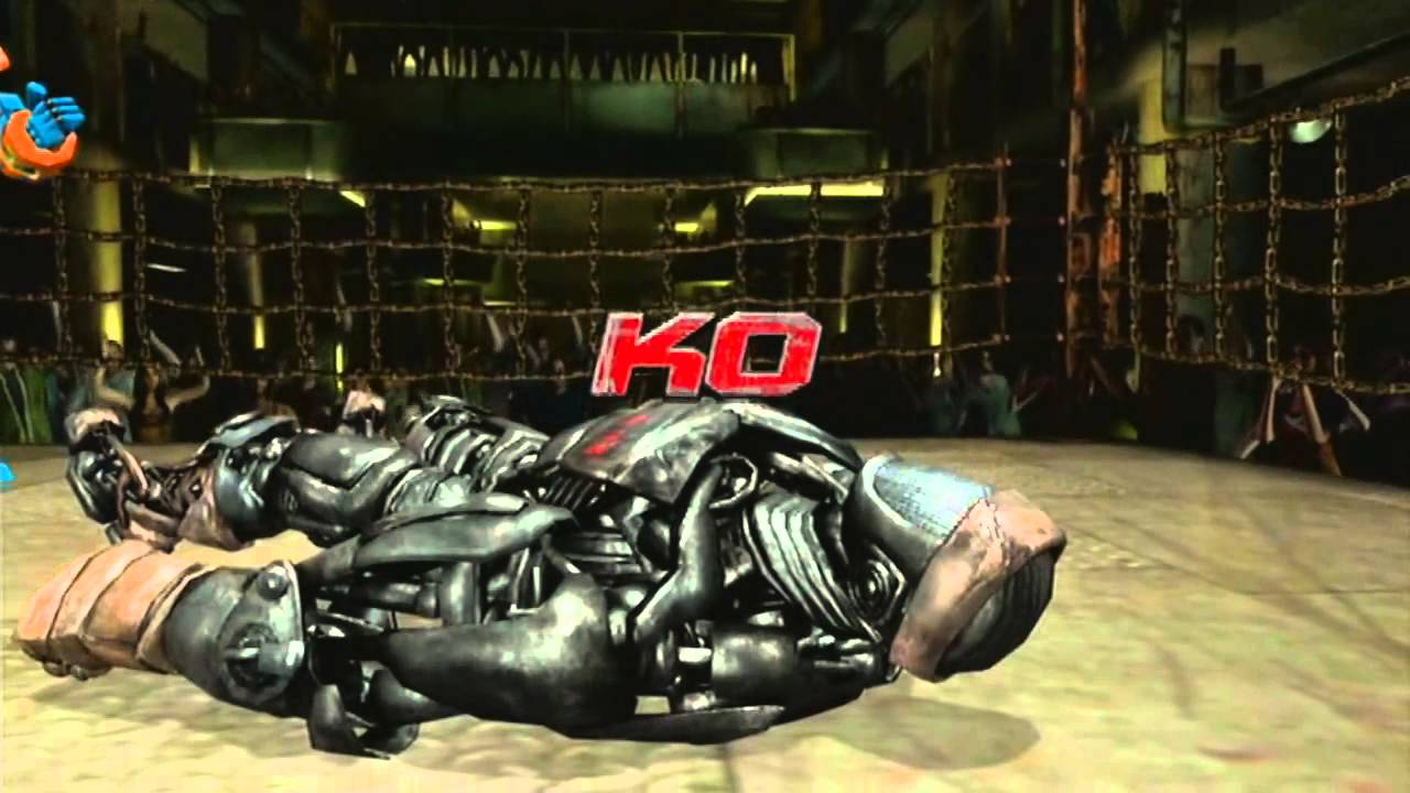 Real Steel Atom Vs Zeus Then Other Bots Vs Iron Rhyno