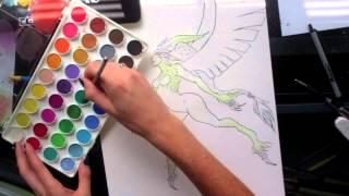 Final Fantasy XI: Garuda Speed Paint
