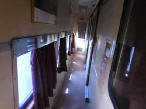 Indian Railways- Interiors of a First AC cum AC-2 Tier coach. (HA-1)