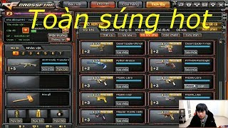 Những khẩu súng hot chuẩn bị update CFVN - Tiền Zombie v4