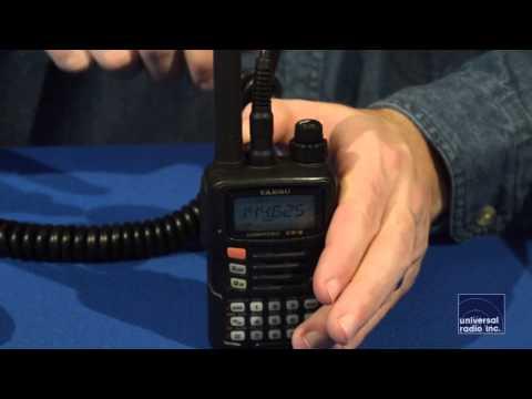 Universal Radio presents the Yaesu VX-6 Amateur Radio HT