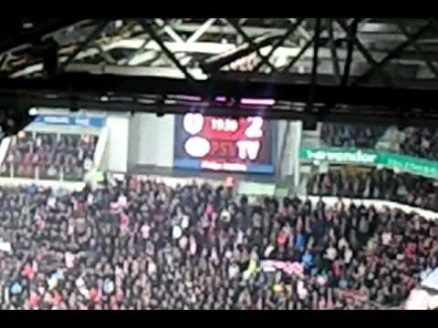 PSV-FC Twente de 0-2, waar blijft dat liedje nou?!