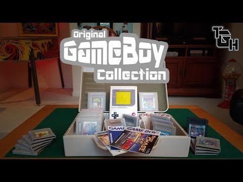OG Game Boy Collection! Game Room Tour