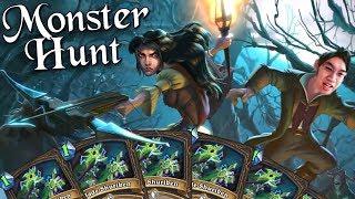 Infinite Shuriken Combo Wombo /w Tess! - Monster Hunt - The Witchwood