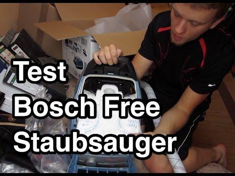 Test Bosch BSGL51338 Bodenstaubsauger Free'e ProParquet Staubsauger Video Review nanokultur.de