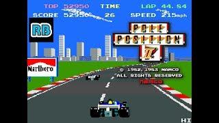 1983 [60fps] Pole Position II 65420pts Seaside ALL