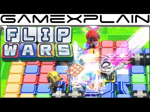 Flip Wars Gameplay (Nintendo Switch Direct Feed)