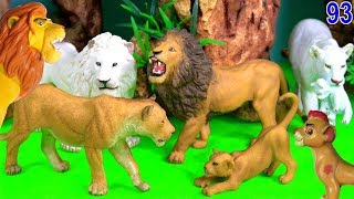 Wild Zoo Animal Toys For Kids Learn Animal Names and Sounds Learn Colors 93