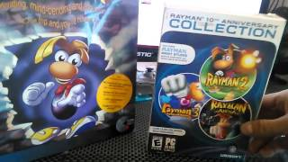 Rayman PC Games Unboxing Review .