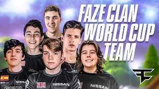 FaZe Clan World Cup Qualifiers: Teamtage