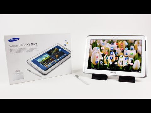 Samsung Galaxy Note 10.1 Unboxing & Review (Galaxy Note 10.1 N8000 3G 16GB)