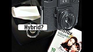 Holga 120N MF Coming Back & Fujifilm Instax SQ10 Square Hybrid Camera?!