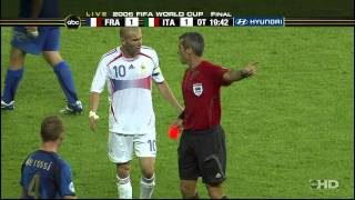 Zidane Headbutt Original Footage - 720p ABC (USA)