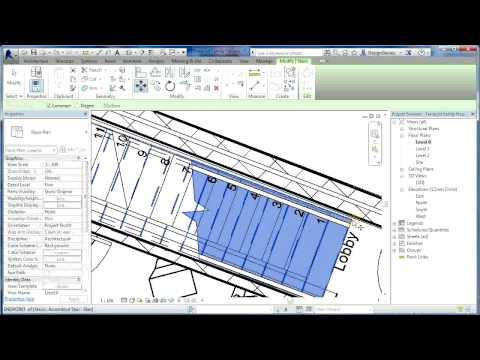 Revit Tutorials | Terraced Houses Design 3 | Revit Architecture 2014