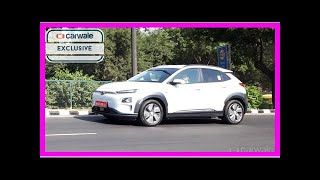 Hyundai Kona EV continues testing in India | k production channel