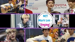 "NCT Mark Lee - ""Singing"""