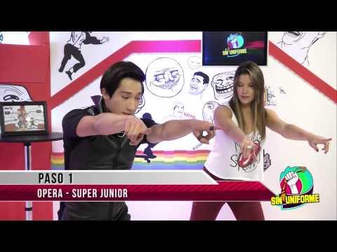Sin Uniforme Capsula Coreografia Super Junior - Opera video