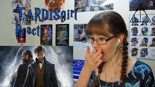 TARDISgirl Reacts - Fantastic Beasts Official Trailer