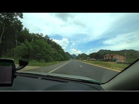 Из Пхукета в Бангкок на авто. Тайские дороги, мой путь к Нитт. Тайланд.