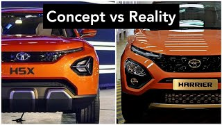 Tata Harrier vs H5X - How Different Are They? | Design Overview