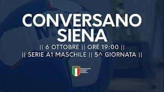 Serie A1M [5^ giornata]: Conversano - Siena 31-27