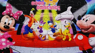 Jigsaw Mickey Mouse Clubhouse Disney Puzzle Kids Games Rompecabezas Minnie Mouse Donald Duck Daisy