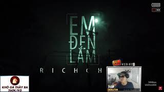 Thầy giáo ba reaction EM đen lắm của rick choi (rep rick)