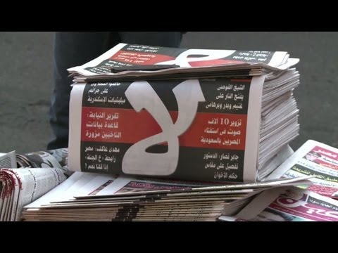 Islamists claim initial victory in Egypt referendum