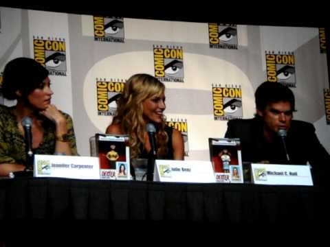 Dexter Interview Panel at Comicon 2009 (Part 08 of 10) Questions with Julie Benz, Michael C. Hall Video