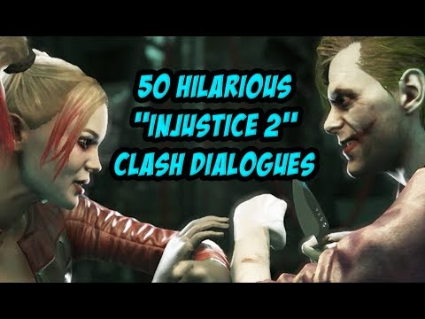 50 Hilarious Injustice 2 Clash Dialogues