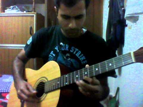Paravashanadenu+kannada+paramatma+acoustic+guitar+song+lead+cover+instrumental.wmv video