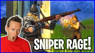 Sniper Shootout with Magnus turns into RAGE!
