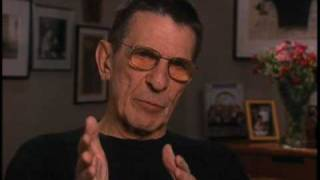 Leonard Nimoy discusses Star Trek's Mr. Spock - EMMYTVLEGENDS.ORG