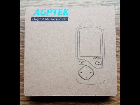 AGPtek C05 Test Bluetooth-MP3-Player Unboxing